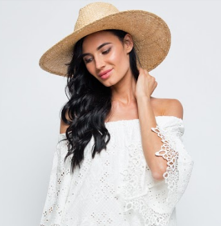 Шляпа слом плет шнур мет дек Fedora SEAFOLLY. (ONE SIZE, бежевый) (kod: 00000007695) - 10604