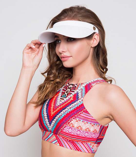 Вайзор Quilted Visor SEAFOLLY. (ONE SIZE, черный) (kod: 00000008131) - 9101
